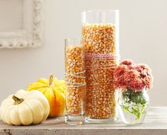 Dollar Store Crafts » Blog Archive Easy Decorating Ideas with Corn Kernels » Dollar Store Crafts
