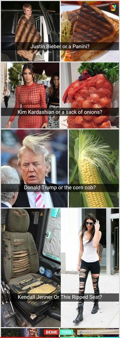 Who Wore It Better Photos That Will Make You Laugh Who Wore It Better Photos That Will Make You Laugh celebrity whoworeitbetter funnypictures funnypics - humor Crazy Funny Memes, Really Funny Memes, Stupid Funny Memes, Haha Funny, Funny Cute, Hilarious, Super Funny Pics, Funny Fails, Funny Shit