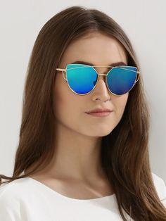 159023347d82c Buy Eristona Blue Mirror Reflector Sunglasses online