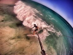 Thats Me Kitesurfing in Wild Western Australia