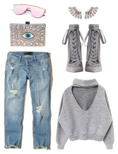 """IT!"" by maria-laura-correa-da-silva ❤ liked on Polyvore featuring Zimmermann, GEDEBE and Hollister Co."