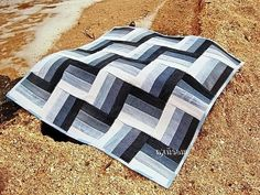 Recycled Jeans Quilt | Idea: Recycled Denim Quilt