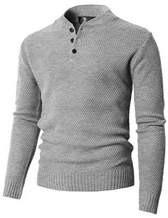 35ab9c548a86 H2H Mens Casual Slim Fit Pullover Sweaters Knitted Henley Long Sleeve  Thermal at Amazon Men s Clothing