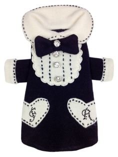 ready for a black tie event at any time?  hand-made 100% recycled cashmere tux sweater with Swarovski embellishments