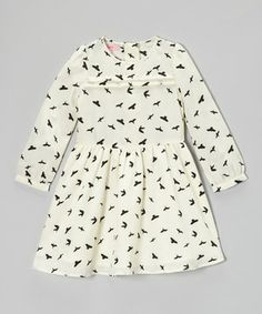 Little girls are the absolute picture of perfection in a fancy frock. A charming print and sweet fitted bodice with a pleat accent bring home the style, while washability keeps things practical.