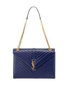 Saint Laurent Monogramme Matelasse Shoulder Bag