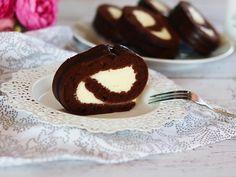 Fitness roláda s vanilkovým krémem Cheesecake, Muffin, Pudding, Breakfast, Fitness, Desserts, Food, Diet, Morning Coffee