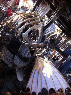 Fonds marins sur l'Ile de Nantes