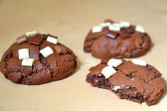 Caramel Filled Chocolate Cookies For Two