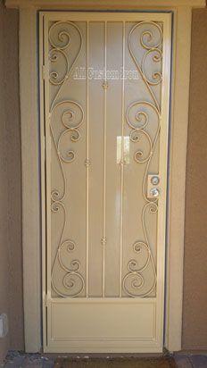 custom iron security door  www.allcustomirongates.com/ #allcustomiron #LasVegas