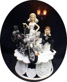 harley davidson couple figurine - Google Search