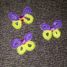 Pipe Cleaner Butterfly SWAPS