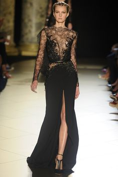 Elie Saab Fall Couture 2012 - Runway, Fashion Week, Reviews and Slideshows - WWD.com