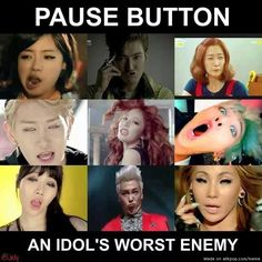 The biggest and the worst enemy of every idol is..... | allkpop Meme Center