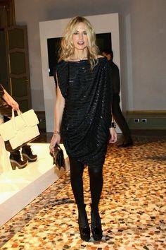 Rachel Zoe, a favorite sighting at Fashion Week.
