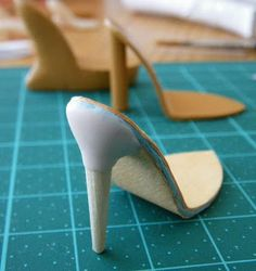 Fashion Doll Shoes: mould making