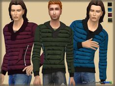 Quilted Jacket by bukovka at TSR • Sims 4 Updates