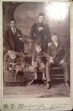 Album 2. Bert, Oda, Alfred, George & Bonnie Firebaugh