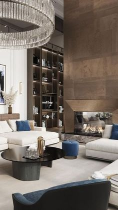 Decor Home Living Room, Elegant Living Room, Interior Design Living Room, Living Room Designs, Living Room Furniture, Living Rooms, Living Area, Modern Furniture, Luxury Interior Design