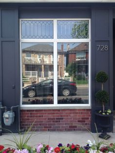 DIY Leaded Glass Window - Storefront Life
