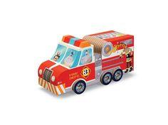 Puzzel en Speel Brandweerwagen (foto 1)