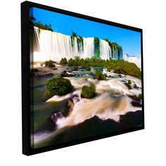 Brazil 2 by Cody York Gallery-Wrapped Floater-Framed Canvas