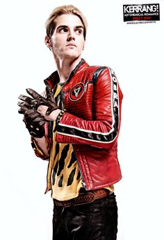 """electriccenturypl: """" Mikey Way poster from Kerrang Hot Shots Poster Special from 2011 """""""