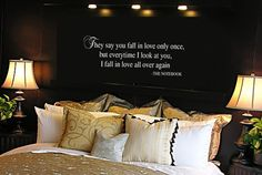 THE NOTEBOOK Quote VInyl Wall Lettering Decal by wallstory on Etsy, $28.99