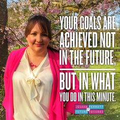 Focusing on your future goals is essential to your success but this must be coupled with a clear understanding that they will only be reached through daily action. Every second every minute every hour and every day is as important to reaching your goals as using the law of attraction and visualising your achievement  boy must balance.  #itstimetofocus