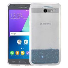 Insten Quicksand Hard Snap-on Glitter Case Cover For Samsung Galaxy Amp Prime 2/ Express Prime 2/ J3