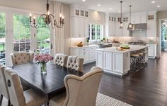 Layout with French doors
