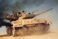 Tiran 6 in action, IDF.