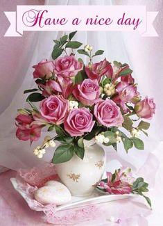 Bouquet of roses by Marianna Lokshina Beautiful Rose Flowers, Beautiful Flower Arrangements, Amazing Flowers, My Flower, Flower Art, Pink Flowers, Floral Arrangements, Beautiful Flowers, Romantic Roses