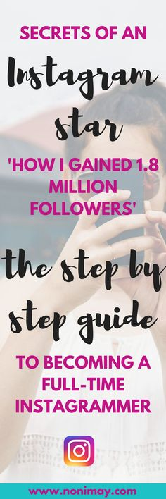 Secrets of an Instagram star - how I gained 1.8 million followers, the step by step guide to becoming a full-time instagrammer. Looking for Instagram tips about their algorithm, how to gain followers on Instagram, how to become Insta-famous, how to have a beautiful Instagram feed, how to make friends on Instagram and more? This Instagram course is for you! Made by gabby epstein.