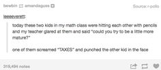 When they learned about taking constructive criticism on board. | 21 Times Tumblr Totally Knew What You Were Going Through At School