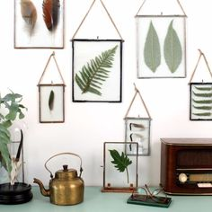 Herbarium SD - Зажимная рамка для гербария или скрапбукинга на подставке, можно расположить горизонтально и вертикально.