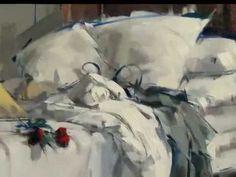 MAGGIE SINER - ( contemporary painter ) - ♫ E. Morricone - YouTube