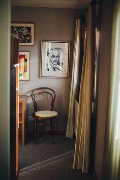 interior art details - Room Nr. 58 - Hotel Gasthof Hirschen Schwarzenberg Bregenzerwald Vorarlberg Austria copyright: Florence Stoiber Curtains, Interior, Home Decor, Blinds, Decoration Home, Indoor, Room Decor, Interiors, Draping
