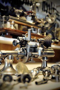 Watch Nerdist Interview: KM Independent Watchmaking Metal Working Tools, Old Tools, Machine Tools, Cnc Machine, Lathe Tools, Woodworking Tools, Industrial Machine, Maker Shop, Tools Hardware