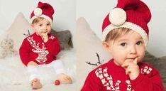 Le pull layette de Noël