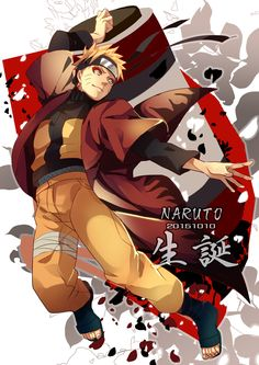 Tags: Fanart, NARUTO, Uzumaki Naruto, Pixiv, Aca, Fanart From Pixiv, Sage Mode