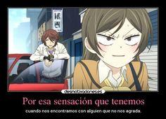 carteles amistad humor anime kamisama hajimemashita momozono nanami kurama sensacion accidente desmotivaciones