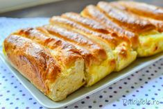 New Recipes, Cooking Recipes, Jacque Pepin, Cooking Bread, Romanian Food, Bacon, Bakery, Deserts, Good Food