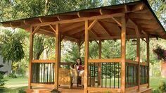 Build a Hip-Roof Gazebo - Handyman Club - Scout