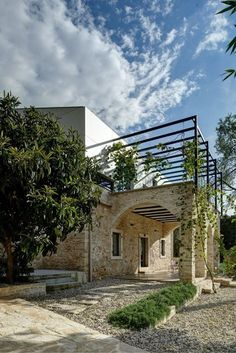 A Modern Reconstruction Of An Old Stone House Architectural Office TOBIS Inzenjering Croatia