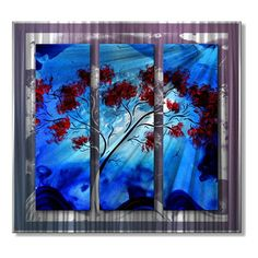 $592 After the Storm Tree Metal Art