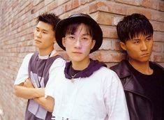 Original hip hop group, Seo Taiji and Boys. Hard to believe YG was in a boy group haha. Yang Hyun Suk, 1990s Fashion Trends, Reggae Style, Pop Idol, Pop Singers, Spice Girls, Dance Music, Kpop Groups, K Idols
