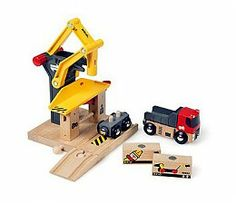 Brio World Freight Goods Station 33280 - Buy Toys from the Adventure Toys Online Toy Store, where the fun goes on and on.