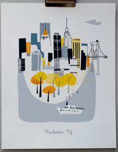 New York... thinking it would be fun to have from the cities I lived in. 5x7 size and frame them all together.