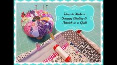 How to Make a Scrappy Binding and Attach to a Quilt